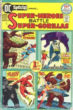 why comics from underground to everywhere the absorbascon why gorillas are in comic books