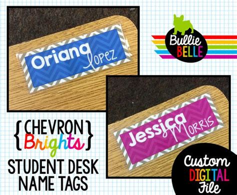 Best 25 Classroom Name Tags Ideas On Pinterest Teacher Student Desk Name Tags