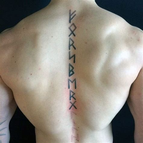 rune tattoo designs 80 rune tattoos for germanic lettering design ideas