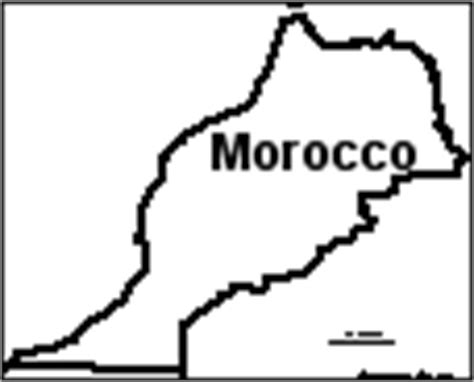 morocco map coloring page africa enchantedlearning com
