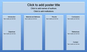 Powerpoint Poster Template 36 X 48 Blue On Blue 36 X 60 Gif Templates Data Poster Presentation Template 36 X 48