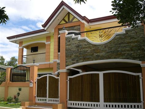 house colour paint philippines house gate design
