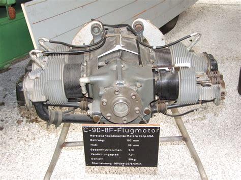 continental motor file continental motors c 90 8f aircraft engine jpg