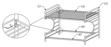 futon bed assembly instructions assembly instructions of quot c quot style futon bunk bed how to