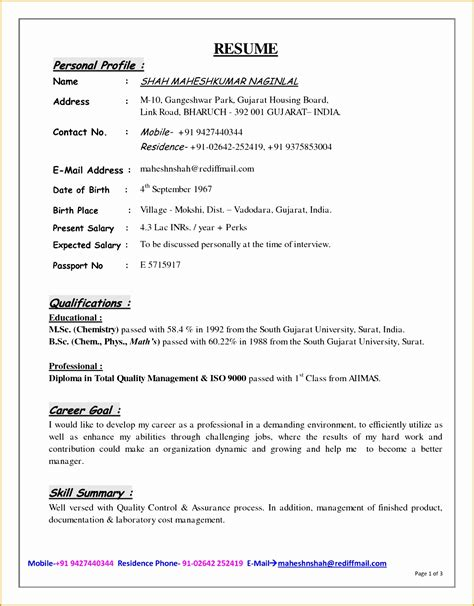 examples of profiles for resumes new new doc example resume personal