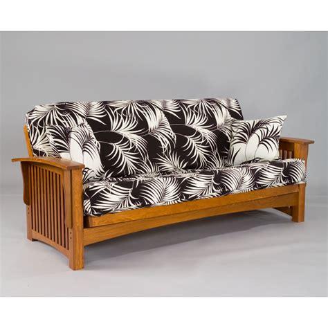 manhattan cherry oak futon set dcg stores