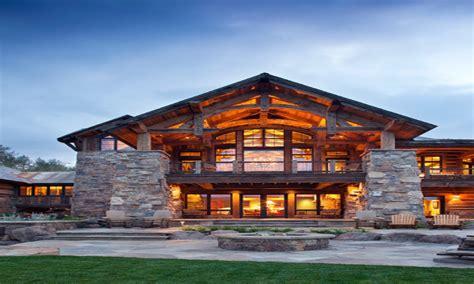 log cabin style modular homes mountain lodge style home