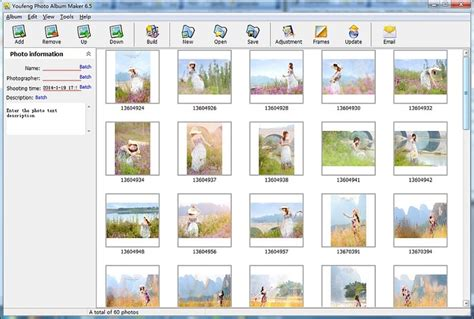 photo album layout software free download youfeng photo album maker download