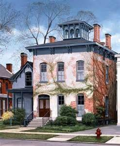 buffalo ny italianate style house with belvedere