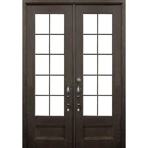 Florida Door by Florida Iron Doors 72 In X 96 In Key Largo Flat Top