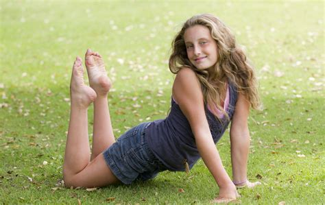 feet preteen isabel can you tell she s a gymnast and a dancer rick