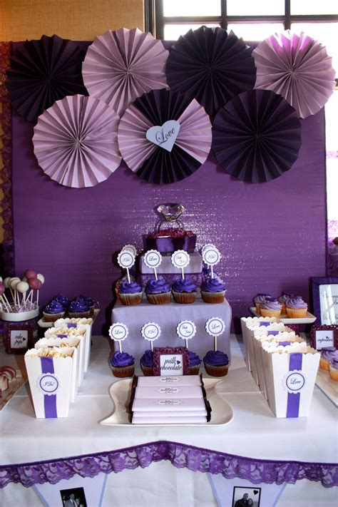 bridal shower decorations purple and green best 20 purple bridal showers ideas on purple