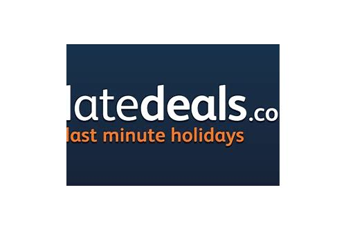 late holiday deals book online