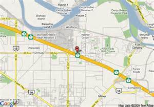 map of inn express hotel and suites langley langley