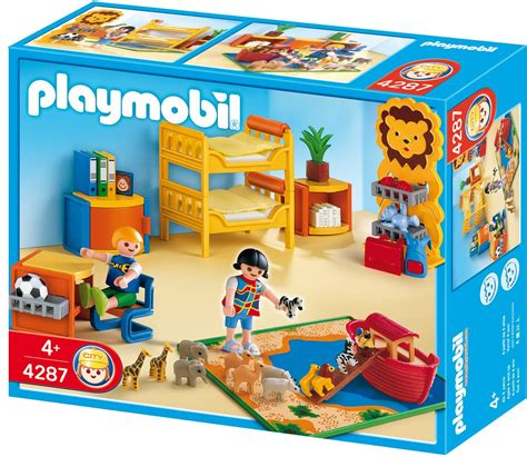 playmobil chambre enfant playmobil 4287 jeu de construction chambre des