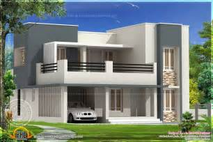 Flat Roof House Design by December 2013 Kerala Home Design And Floor Plans