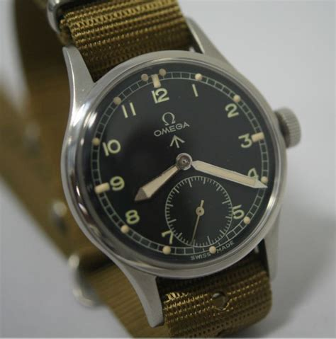 omega british military wwii watch time pinterest