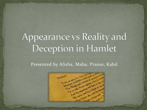 hamlet themes appearance vs reality quotes hamlet essays on deception technicalcollege web fc2 com