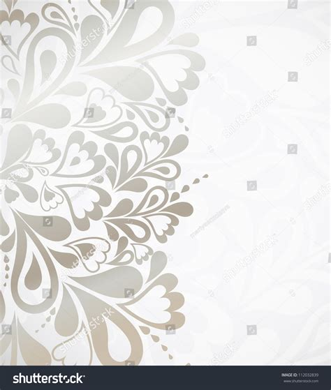 silver layout vector illustration silver background design vector stock vector