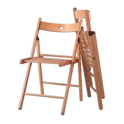 4 x ikea terje folding chair beech brand new next day