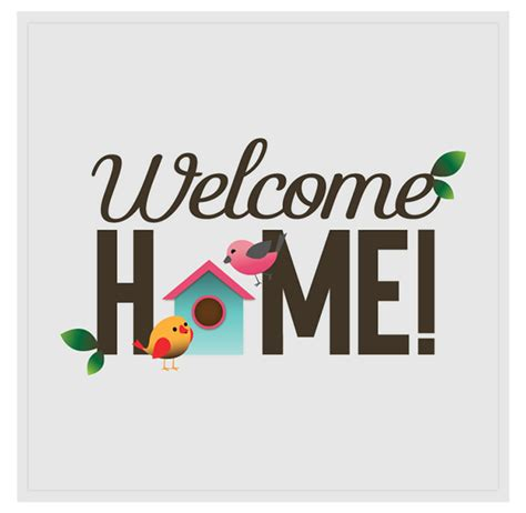 welcome home on behance