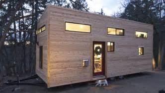 Lighting One Cincinnati Elegant Minimalist Tiny House On Wheels With Staircase