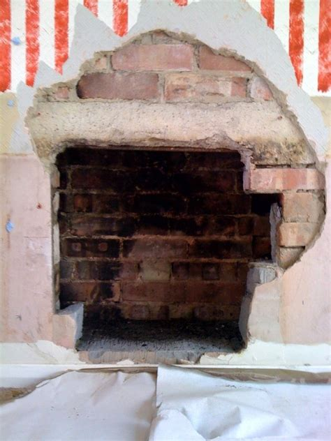 Open Up Fireplace by Opening Up Fireplace For A Wood Burning Stove Chimneys