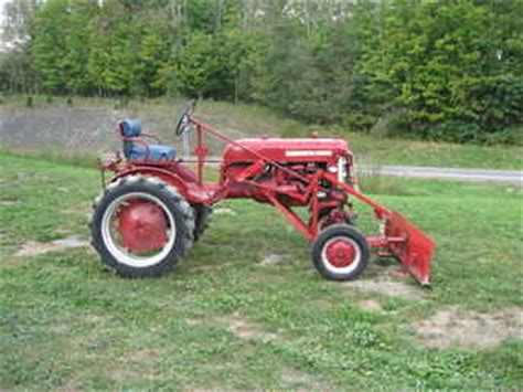 Used Farm Tractors For Sale 1959 Farmall Cub With Plow