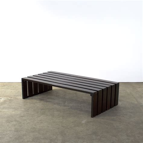 museum bench 70 s martin visser style slatted bench museum bench weng 233