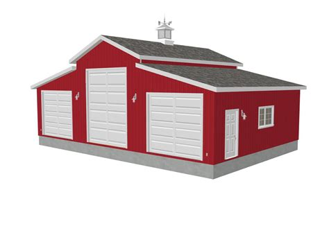 rv garage plans plan g258 45 x 30 10 sides 15 center rv garage plan