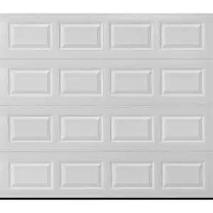 shop reliabilt traditional 9 ft x 8 ft white garage door