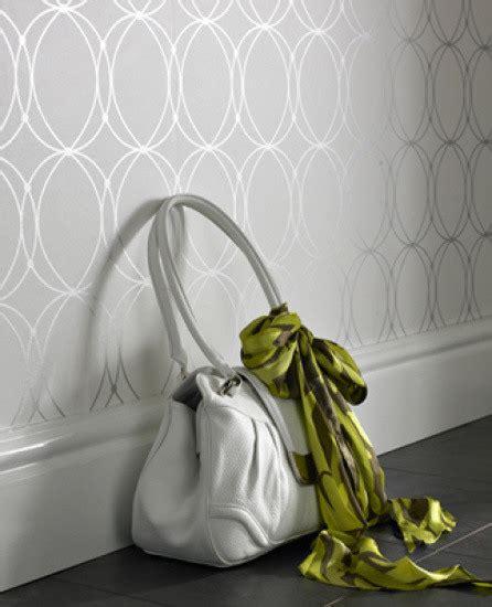 grey wallpaper houzz eclectic wallpaper