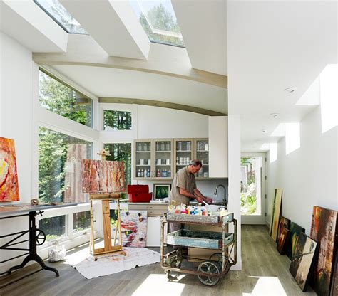 home studio design office 20 trendy ideas for a home office with skylights