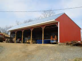 Types Of Dairy Barns Shed Roof Pole Barn