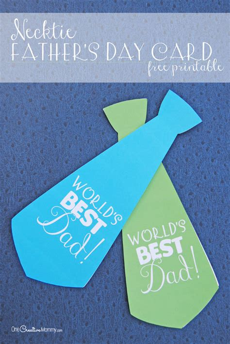 printable fathers day cards for to make easy s day gift idea soda pop neckties