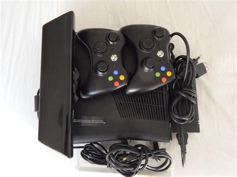 xbox 360 slim 250gb console console xbox 360 slim 250gb kinect 2 controles jogos