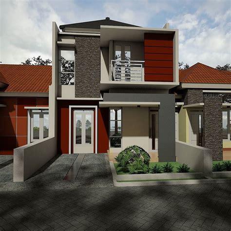 desain rumah depan belakang 93 desain rumah belakang toko desain rumah toko