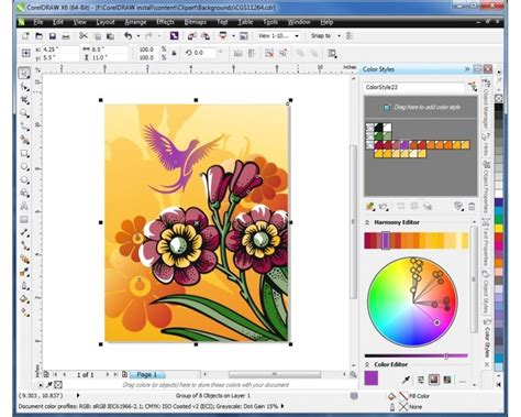 corel draw x6 effects corel draw gurpreet kaur daily diary