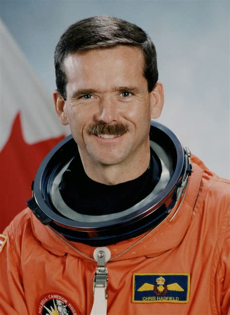 Chris Hadfield by Chris Hadfield The Astronaut Biography Facts And Quotes