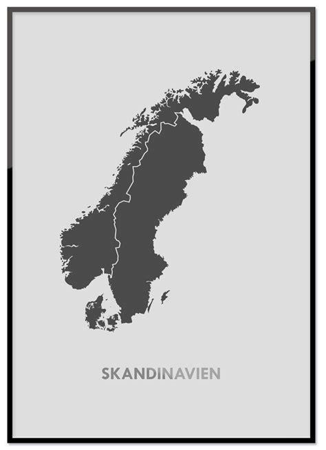 poster skandinavisch poster skandinavien