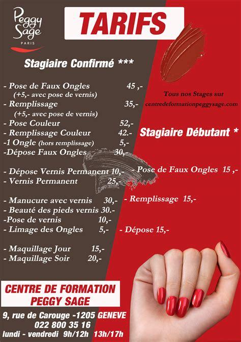 Ecole Onglerie Modele by Ecole De Coiffure Geneve Tarifs Votre Nouveau