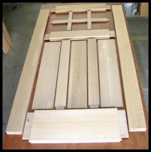 heart  oak workshop arts crafts style doors