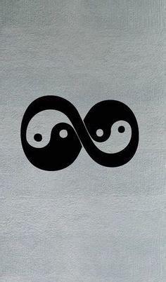 infinity yin yang tattoo infinity times infinity double infinity symbol romantic