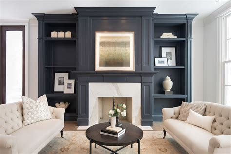 living room built ins with fireplace gray living room built ins transitional living room