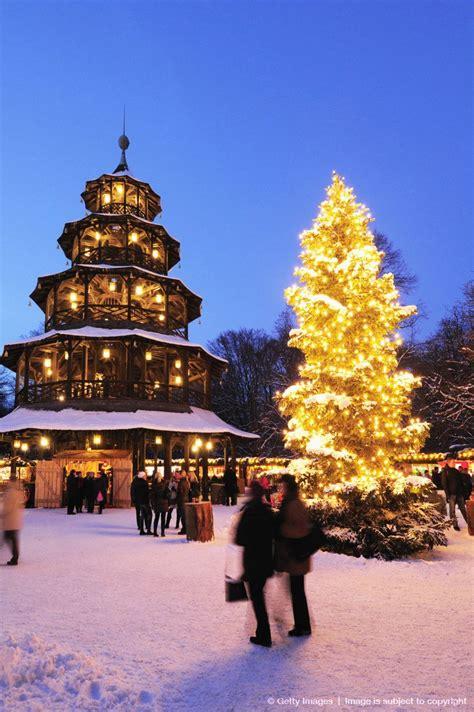 Englischer Garten Munich Winter by Chinesischer Turm Englischer Garten Munich
