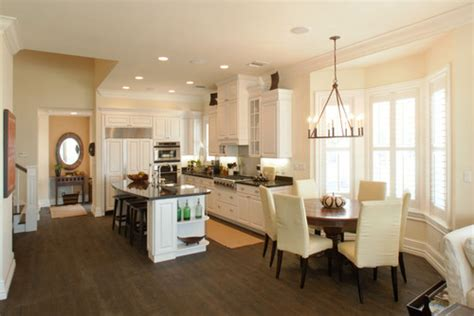 the kitchen whose light fixture is the kitchen
