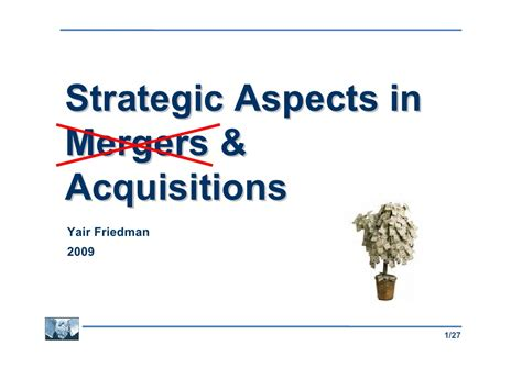 Best Mba For Mergers And Acquisitions by Mergers Acquisitions Intro Class