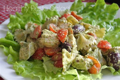 pesto salad healthy pesto salad morganize with me