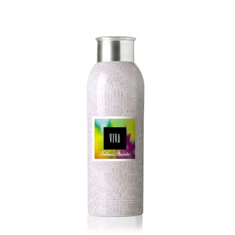 viva talcum powder 30g the cotswold perfumery