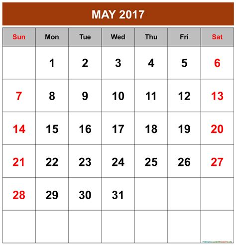 may 2016 calendar holidays 2017 printable calendar may 2017 calendar printable 2017 calendar